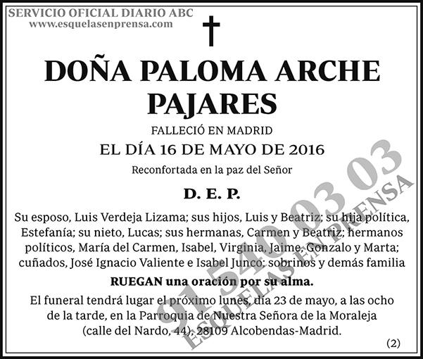Paloma Arche Pajares